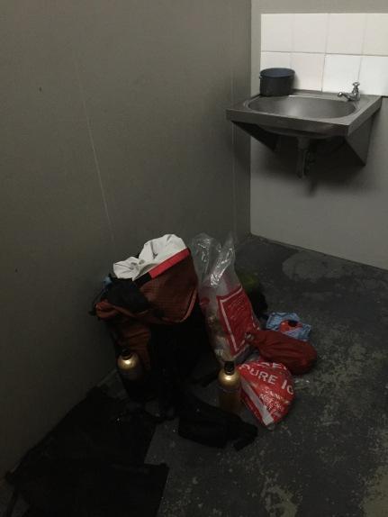 Toilet escapes